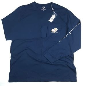 Vineyard Vines Men's Turkey Whale Logo Graphic Tee